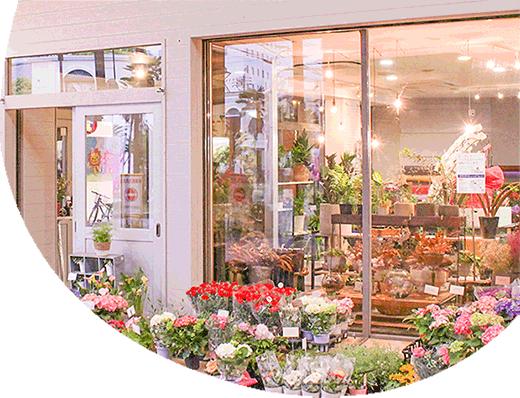 四日市駅近くの花屋のMiriです